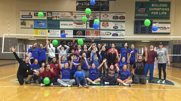 UWF Volleyball Pace HS2