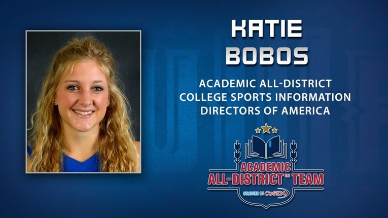 Katie Bobos Academic All-District